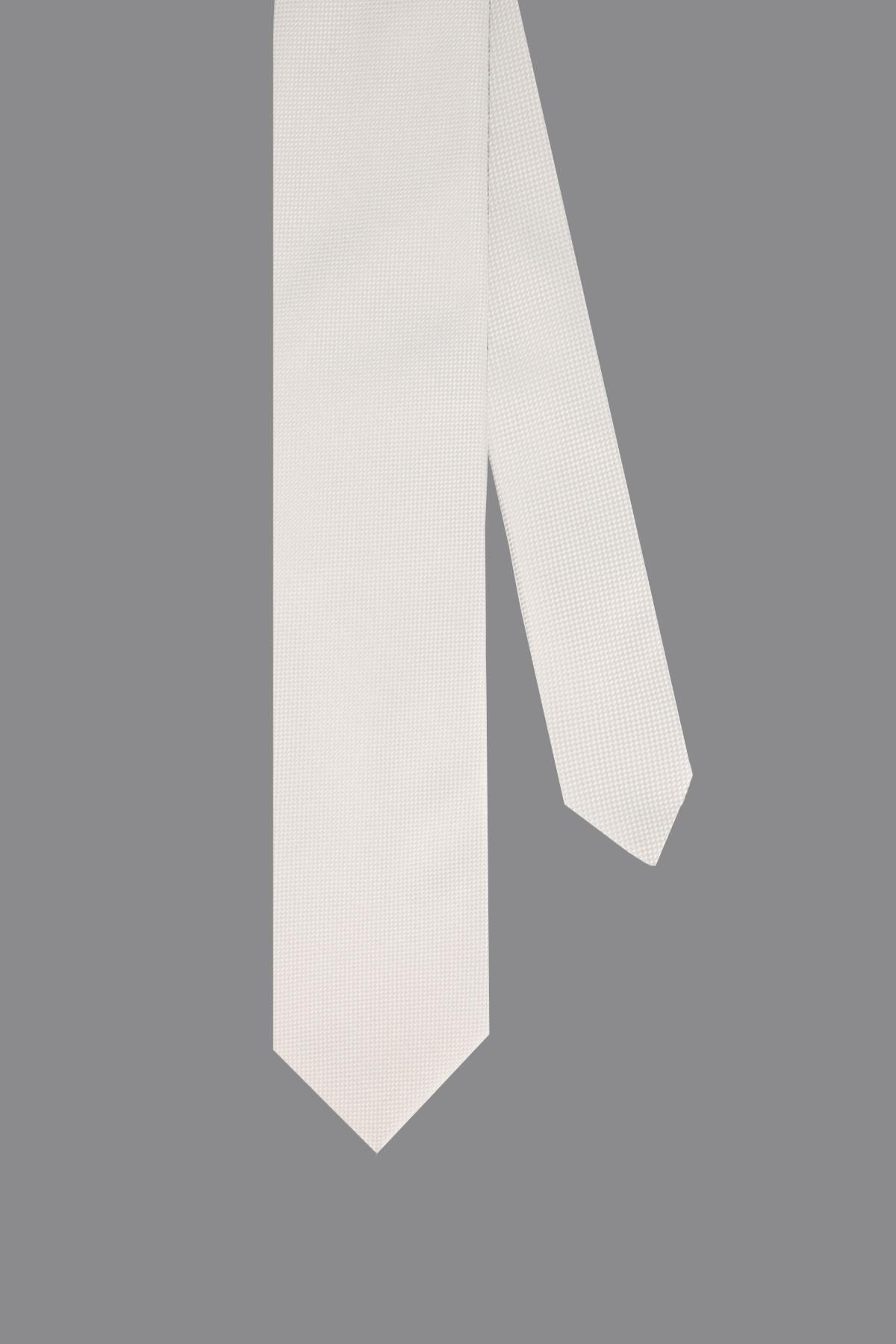 Corbata CANALI color Blanco