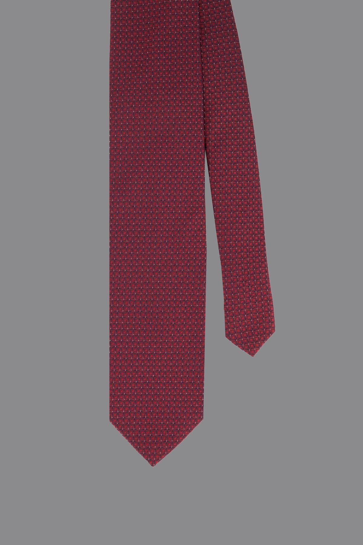 Corbata ROBERTS color Rojo