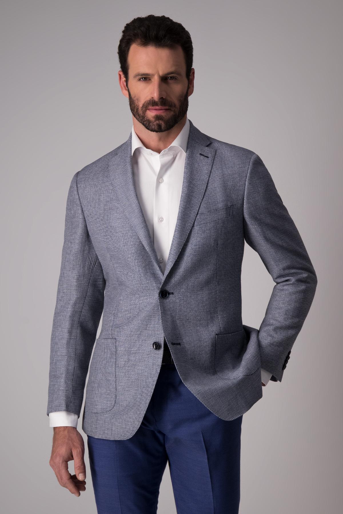 Saco Florencia textura lana