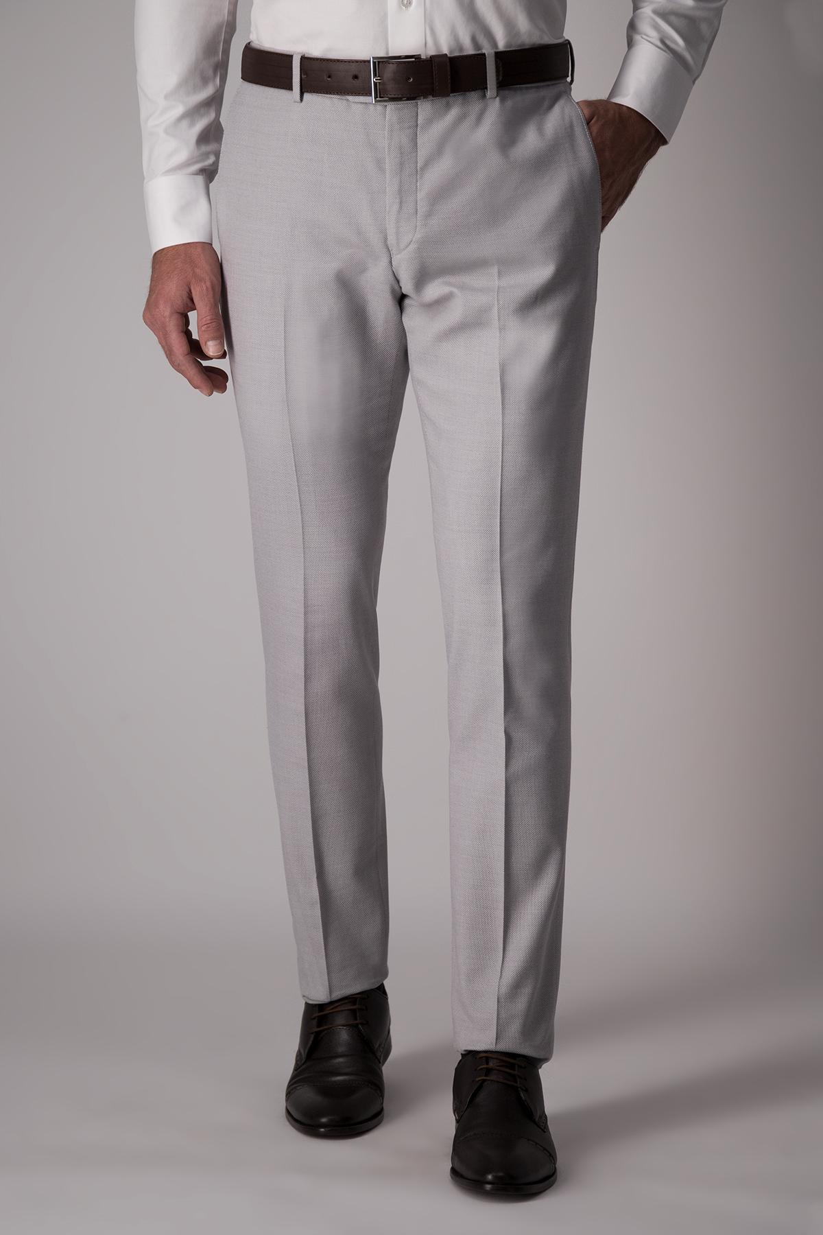 Pantalón Chester textura gris