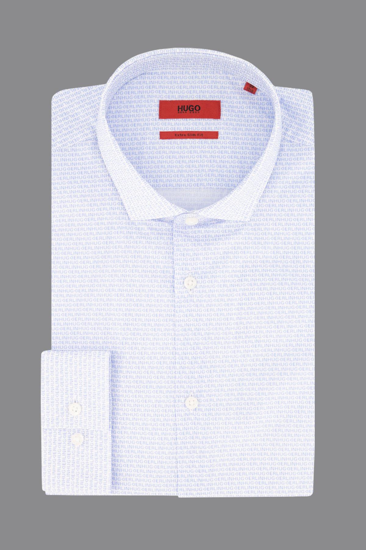 Camisa Hugo texto